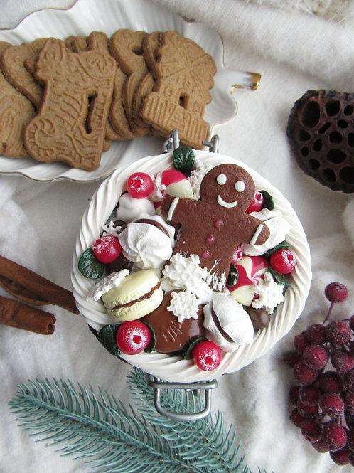 """Handmade Einmachglas """"Gingerbread"""" in Geschenkverpackung"""