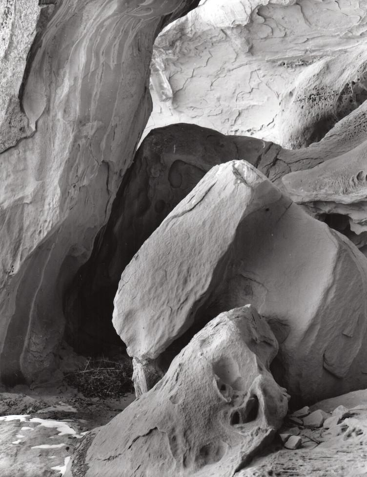 Rock Formation El Malpais