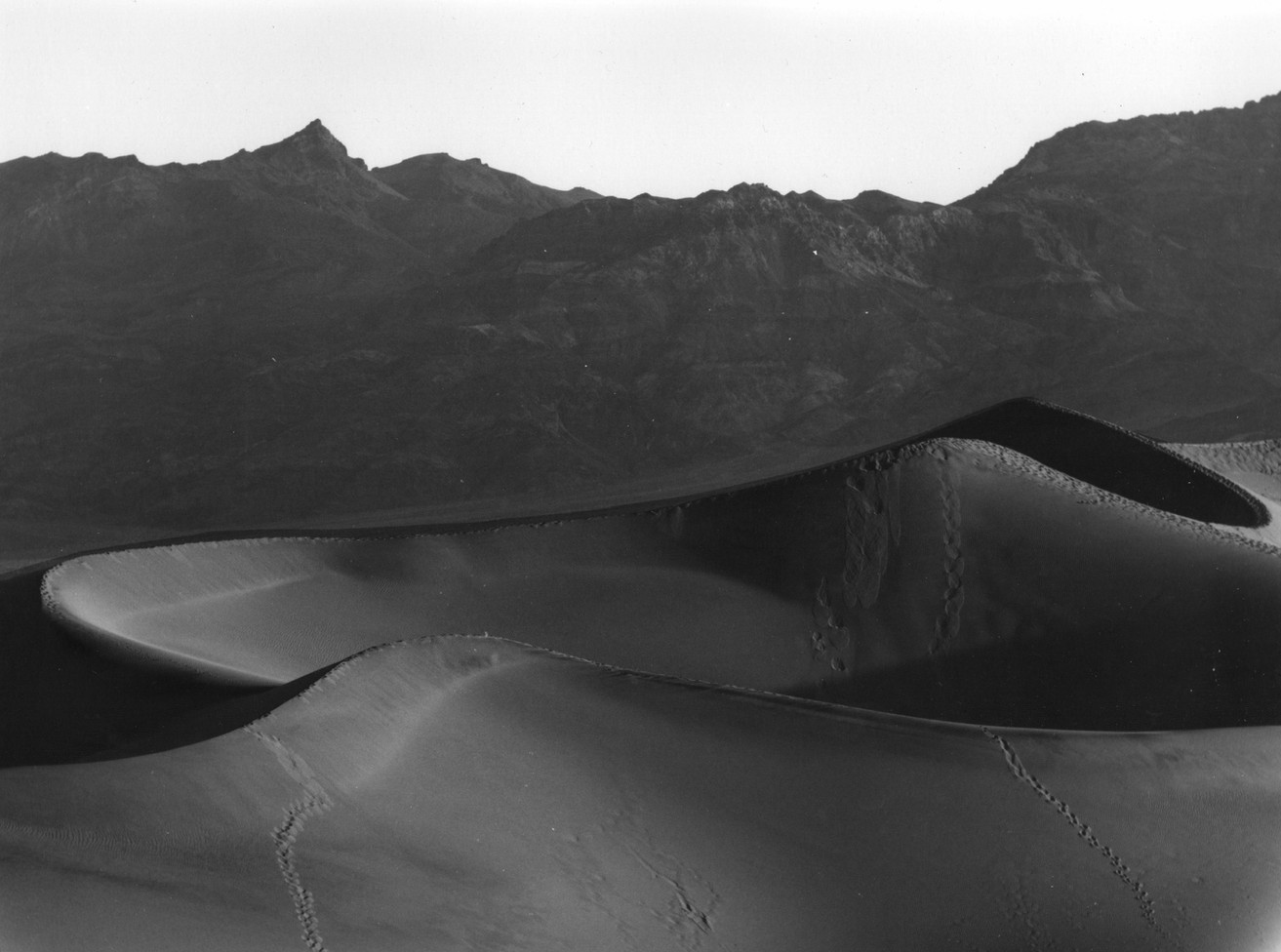Sand Dunes at Stovepipe Wells, Death Valley