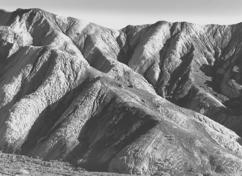 Sculptured Hills - Death Valley