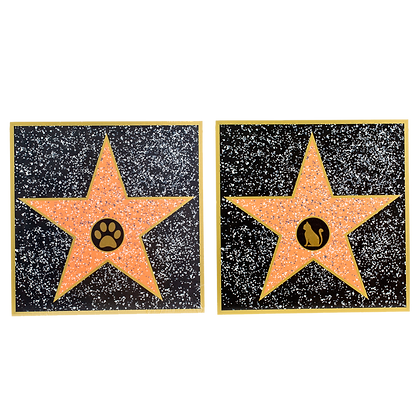 Do-It-Yourself Cat/Dog Walk of Fame Star