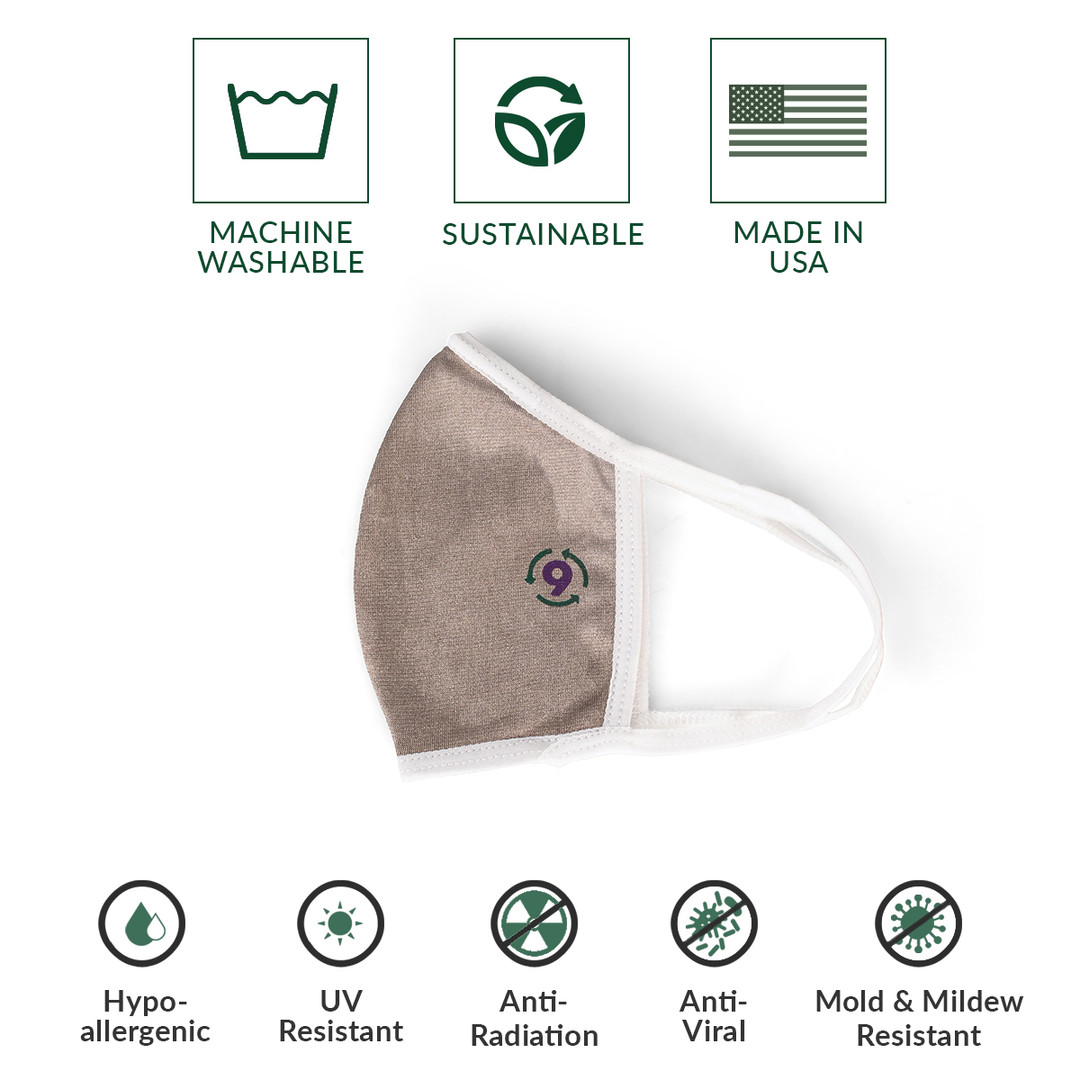 9Fiber SLVR9 Mask