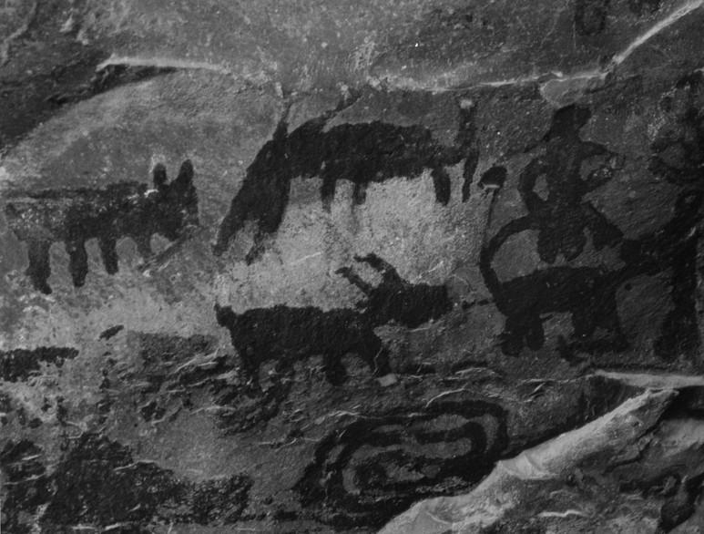 Ancient Wall Paintings at Palatki, Arizona