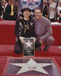Carlos Santana, Edward James Olmos
