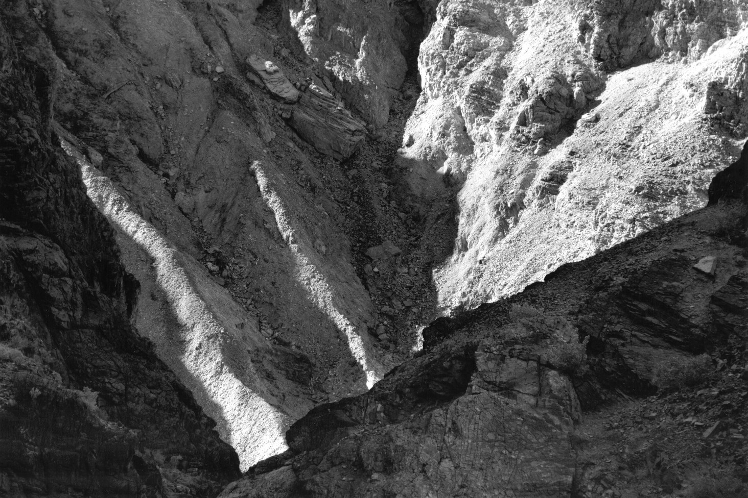 Detail Golden Canyon - Death Valley