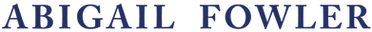 Abigail Fowler Designs Logo