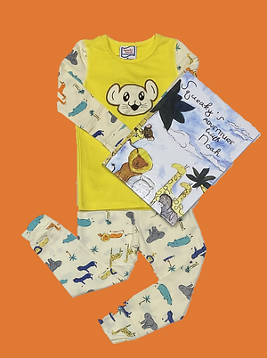 Noah's Ark Pajamas with Matching Book