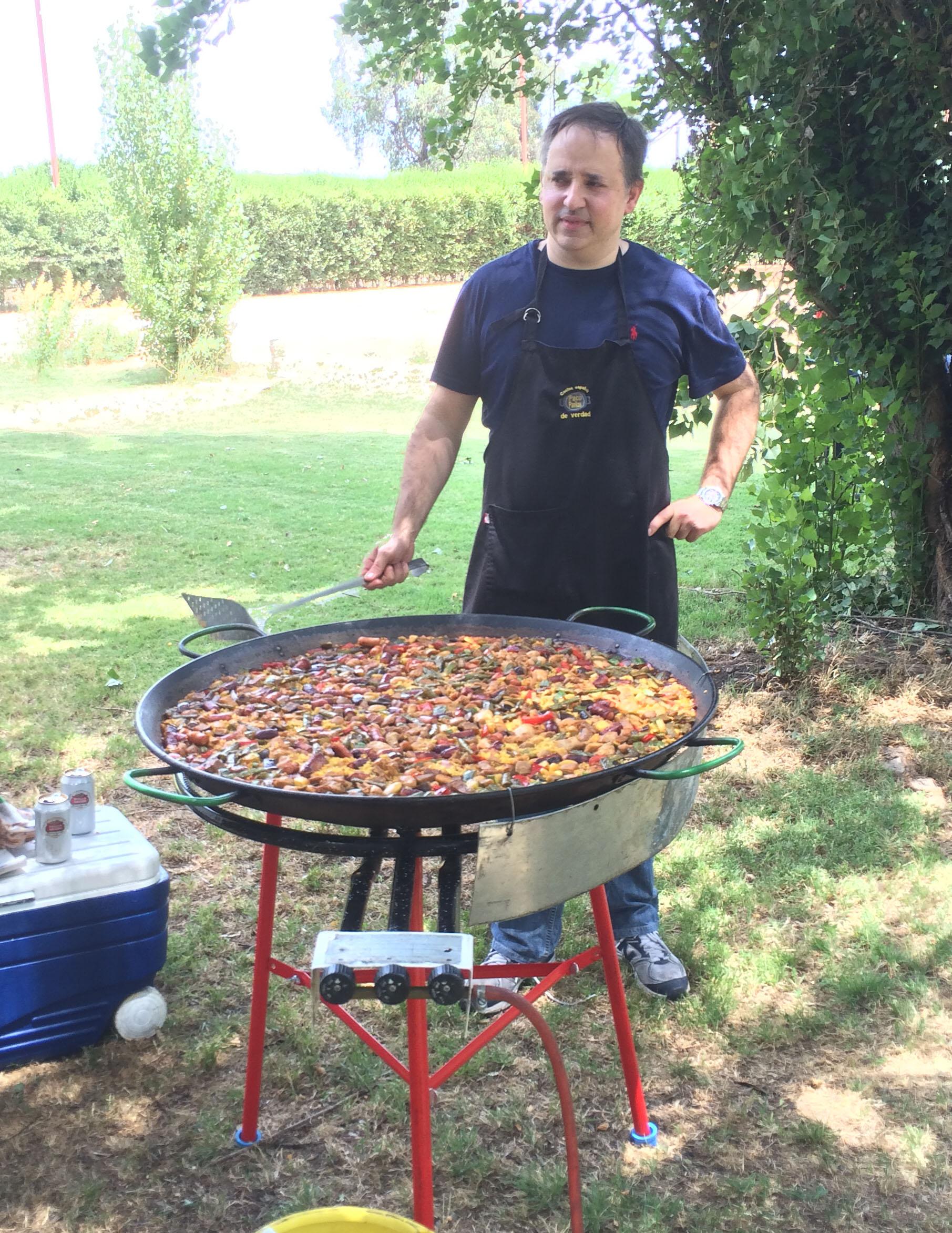 """La paella """"dominguera"""""""