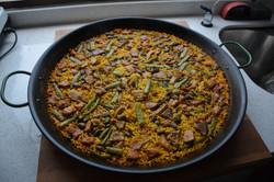 Paella casi-valenciana