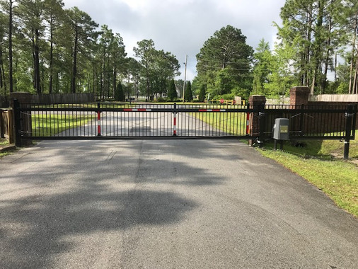 HOA Slide Gate