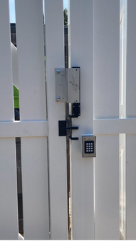 Walk-In Gate Maglock with Keypad