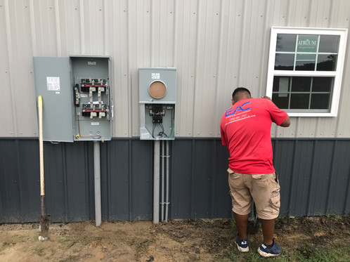 Commerical Building Service Install