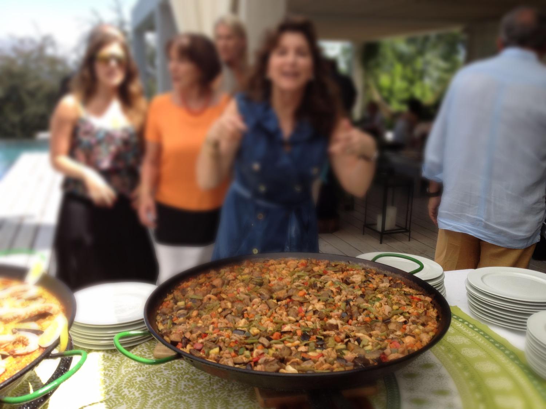 """Paella """"ciega"""" de carne y verduras"""