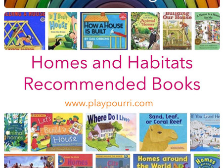 Children's Books about Homes and Habitats.