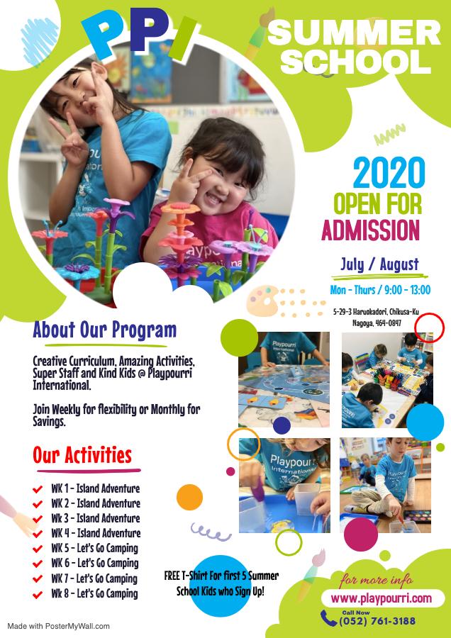 PPI Summer School Flyer
