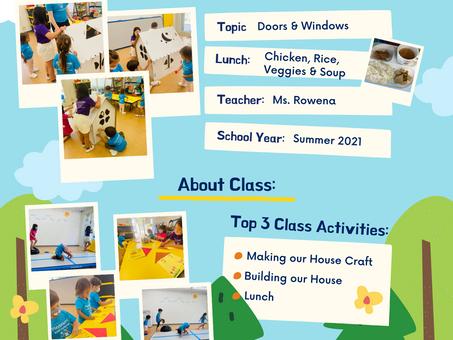 Summer School News! - Day 1 (7/26/21)