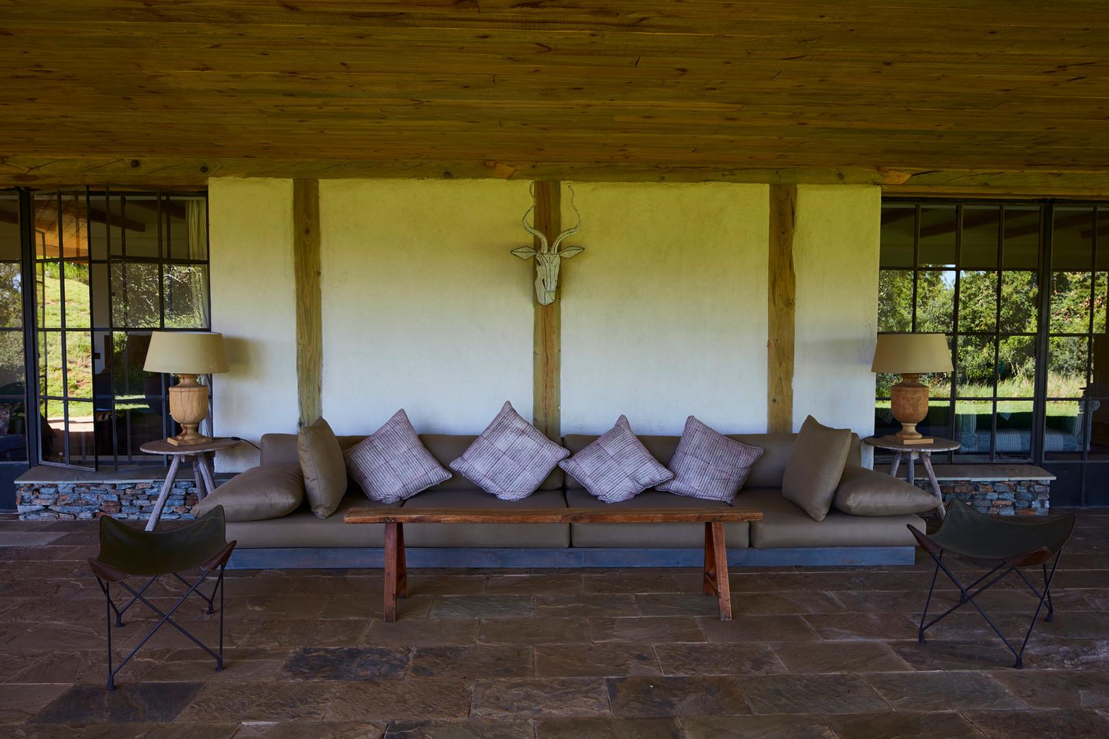 Bedroom verandah