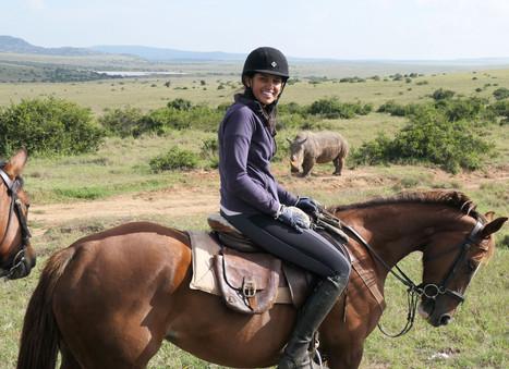 Riding Wild Borana
