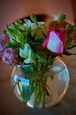 Beautiful, locally sourced roses