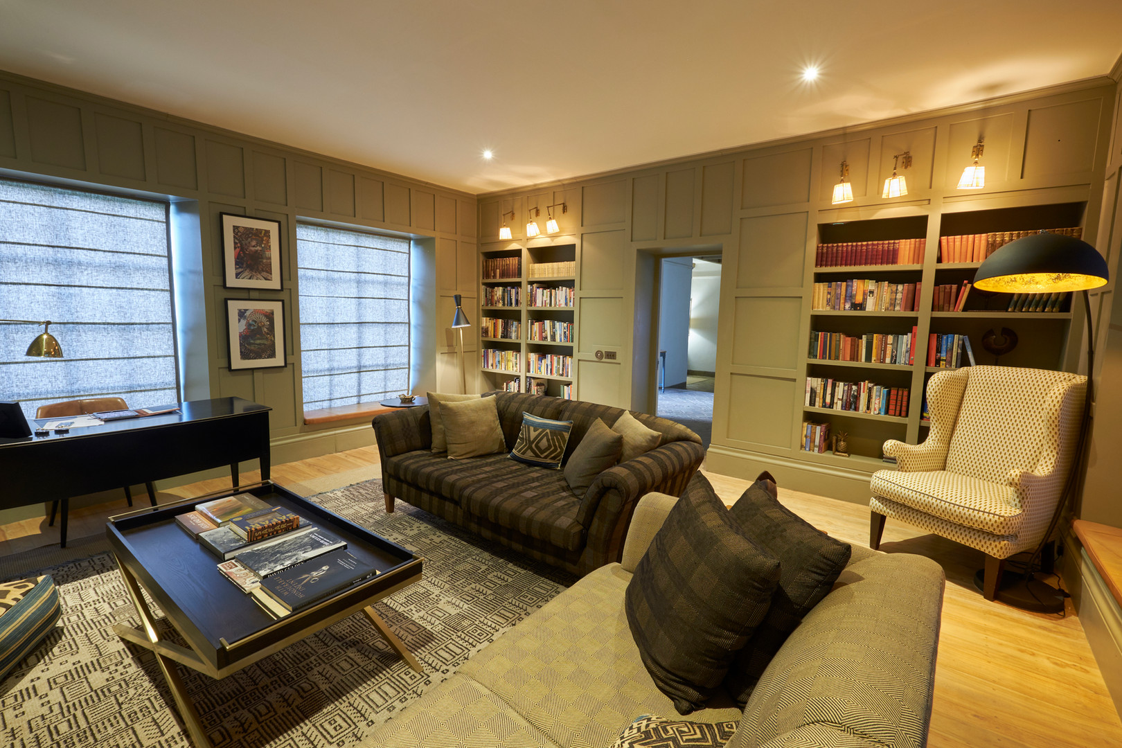 Library/TV room