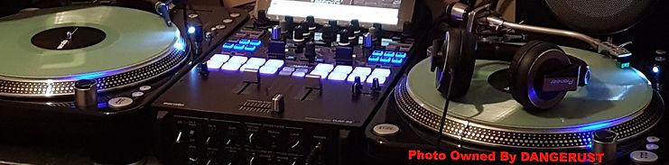 DJ Pommy D aka DANGERUST Whanagamata DJ
