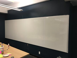 Whiteboard wall