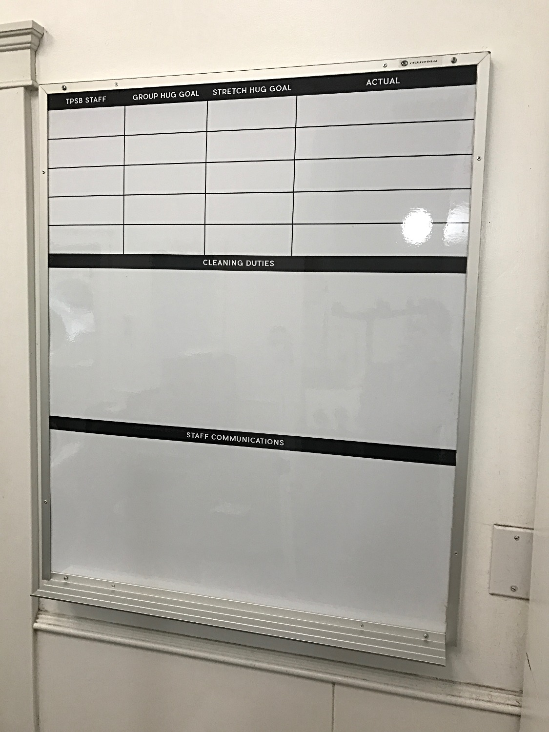 Custom Printed Dry Erase Whiteboard