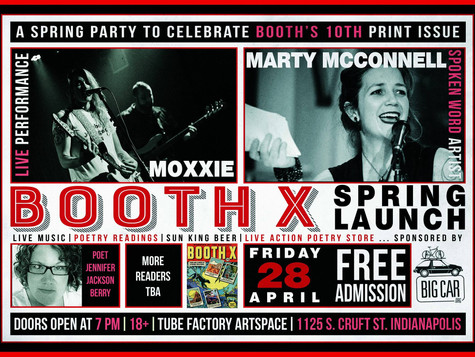 Booth X Launch Party - April 28th