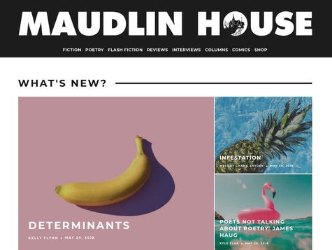 """""""Determinants"""" - Maudlin House (May 2018)"""