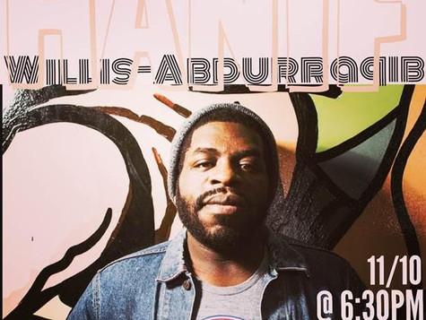 Hanif Willis-Abdurraqib @ Butler University - 11/10