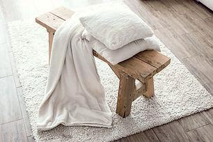 Short Wood Bench