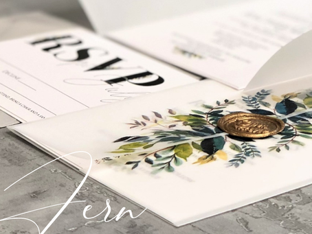 Introducing the stunning Fern Collection