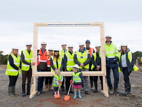 Roundswell Ground Breaking