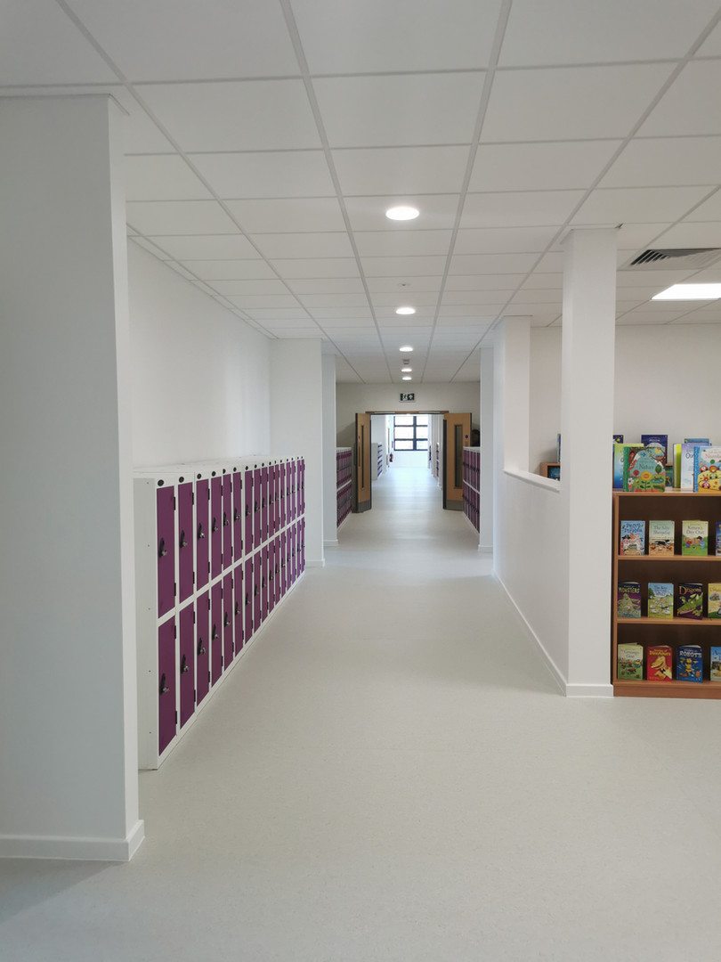 First Floor School Corridor