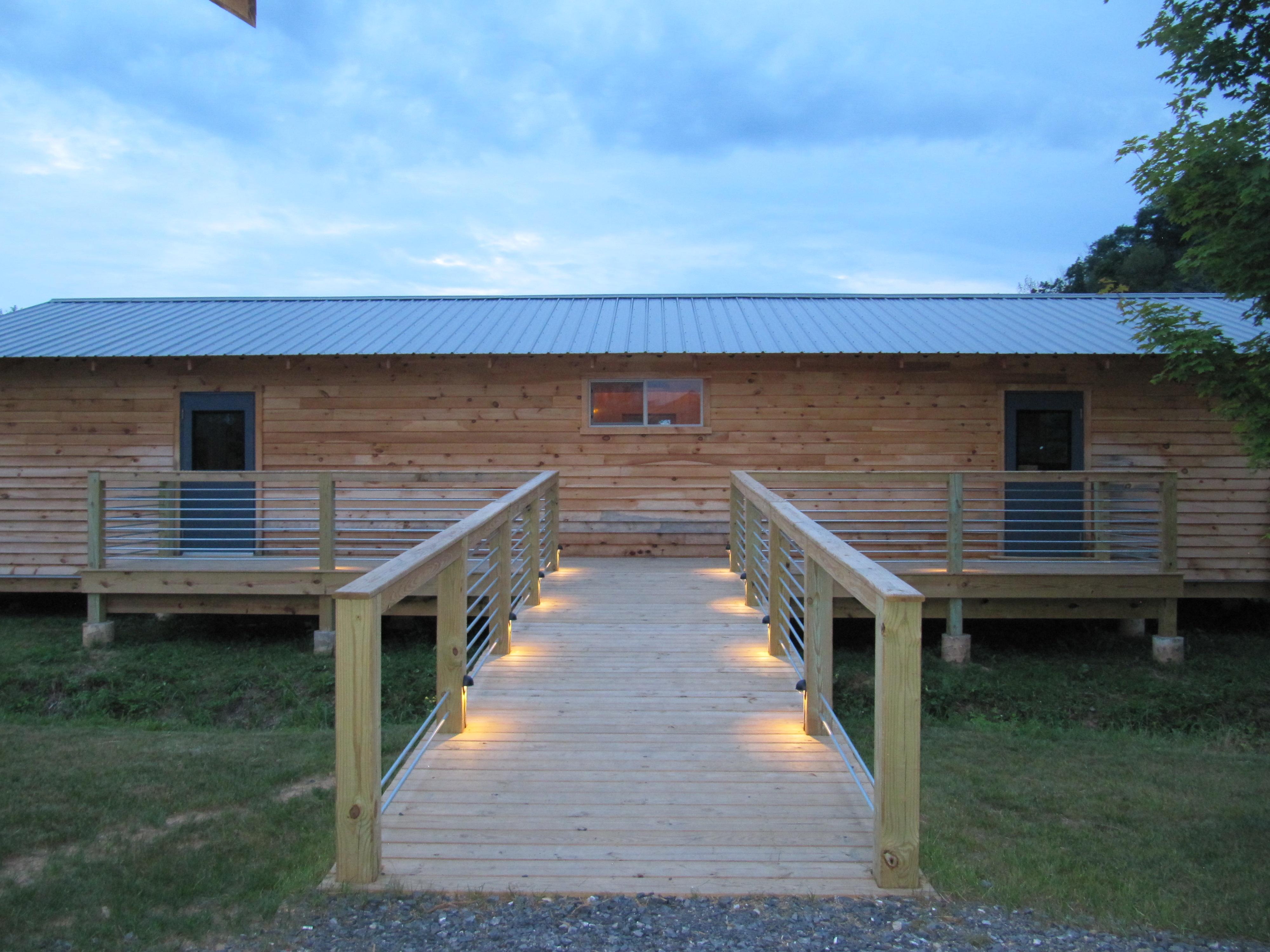 Bunkhouse ramp 2