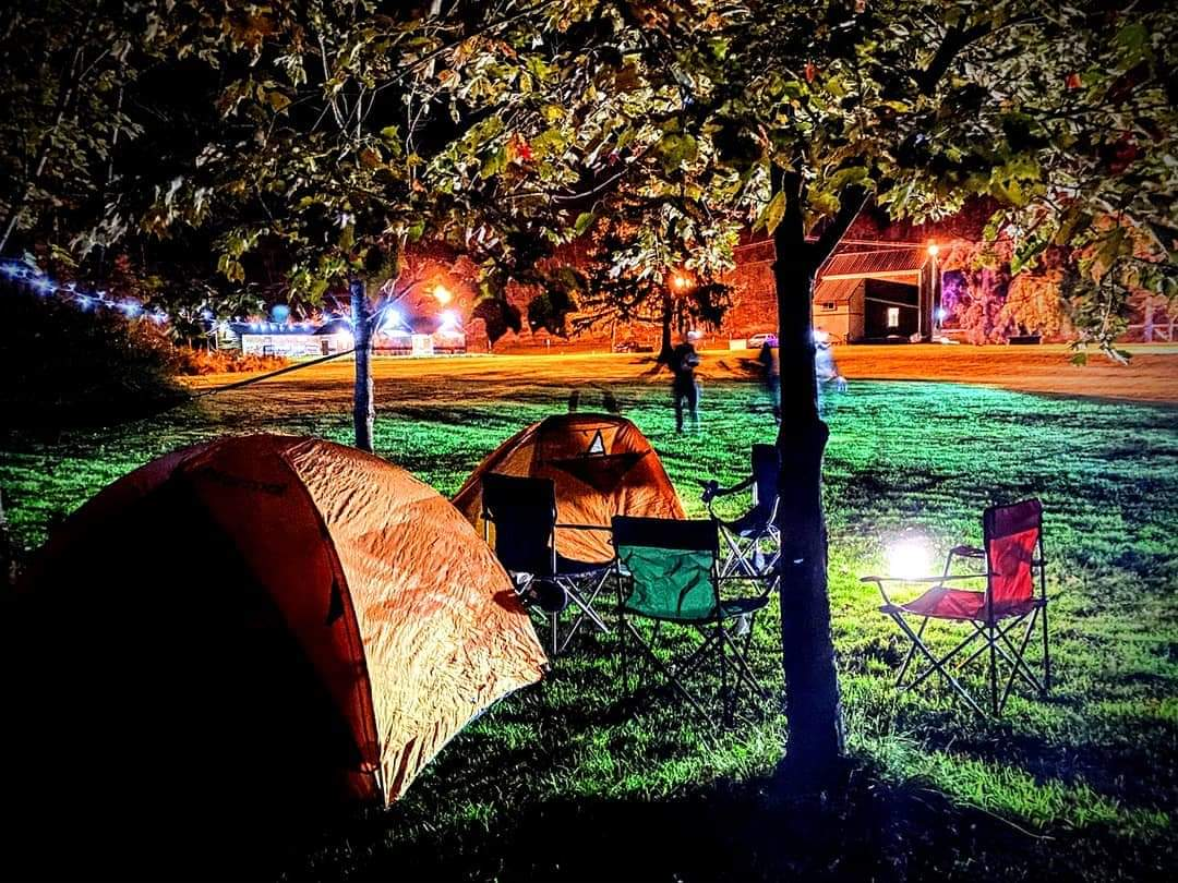 nightglow tenting