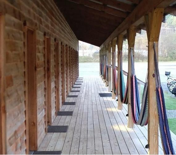 cabana deck