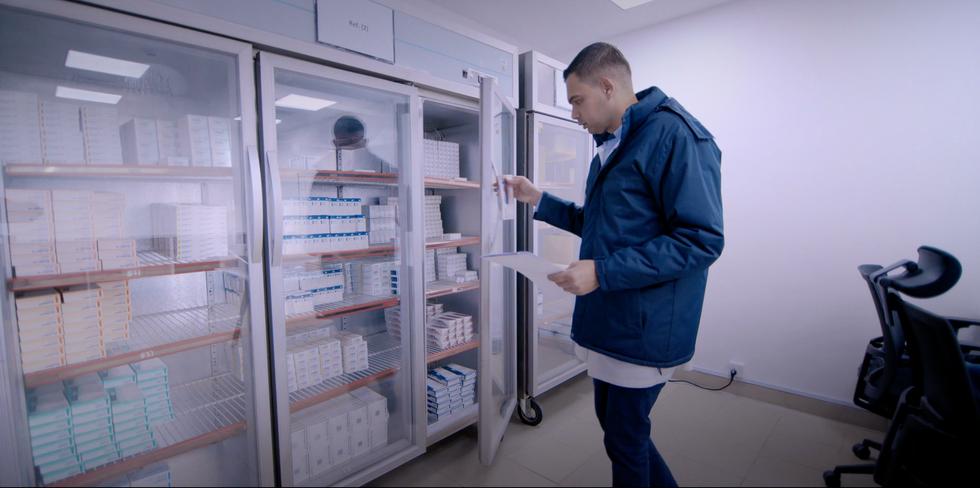 Khoury Drug Store Cold Chain Fridge