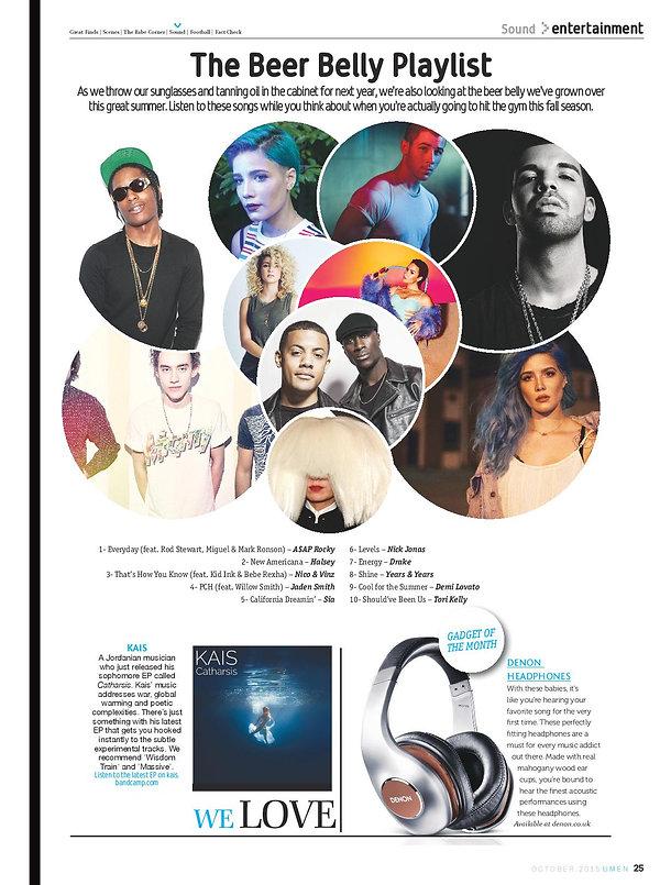 KAIS - UMEN Feature 2015