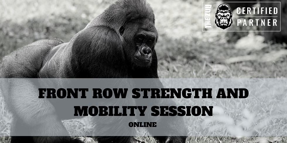 ZUU FRONT ROW POWER SESSION 8 April 2020