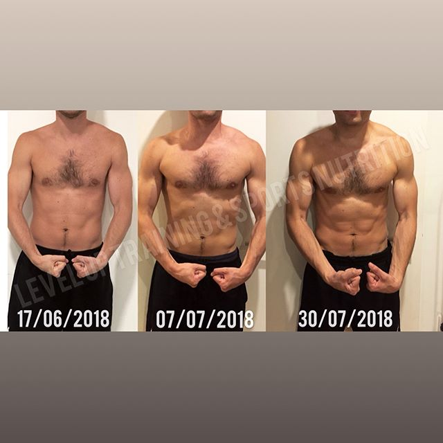 Well done buddy 💪🏼 My client's results