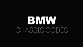 KNOW YOUR BMW CHASSIS CODES