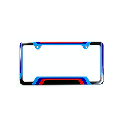 M LIVERY LICENSE PLATE FRAME
