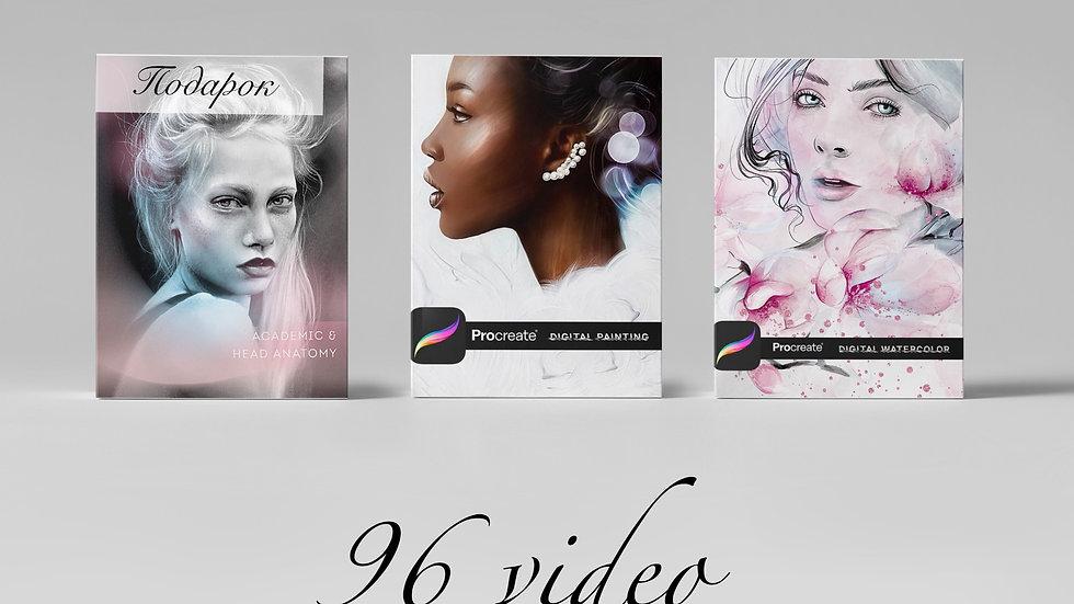 Digital Artist | Your Style | Procreate + Academic & Head Anatomy