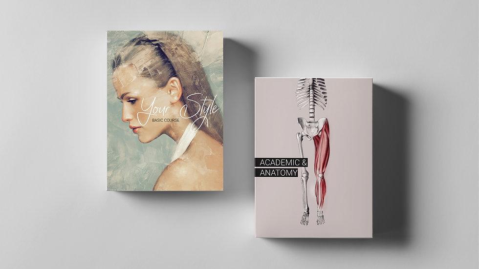 Your Style | Basic Course + Художественное портфолио  + Academic & Anatomy