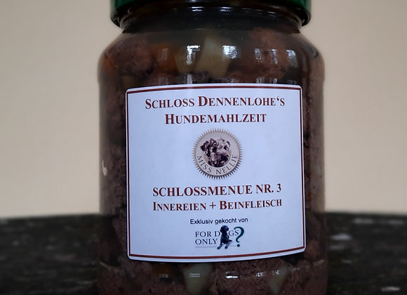 Schlossmenü sensitiv