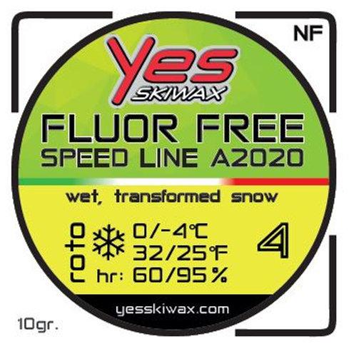Roto No Fluor Speed Line 4