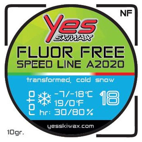 Roto No Fluor Speed Line 18