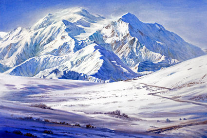 SUNDAY ONLINE WATERCOLOR CLASS 10am-1pm