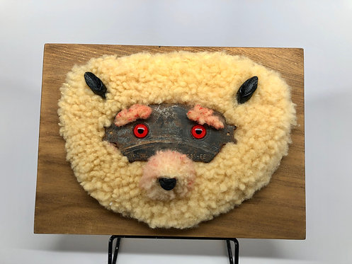 Hilda Melchior - Toyota Teddy - mixed media